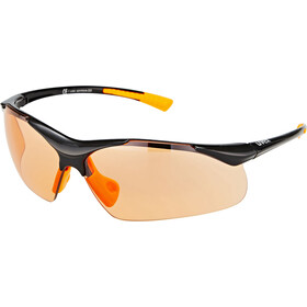 UVEX Sportstyle 223 Okulary sportowe, black/orange/orange